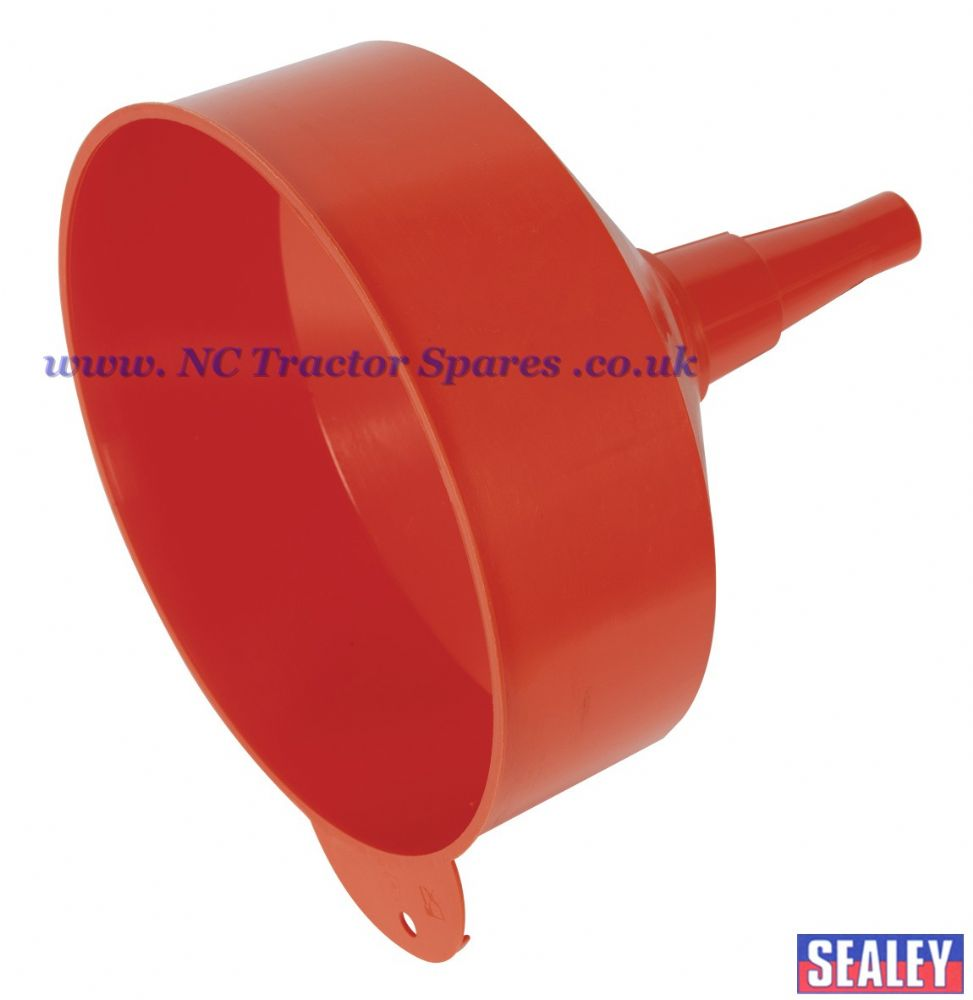Funnel Large 250mm Fixed Spout with Filter